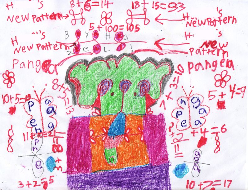 H math drawing